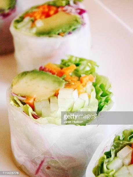 Vegan California Roll in Rice Paper