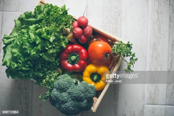 vegan diet - consegna a domicilio foto e immagini stock