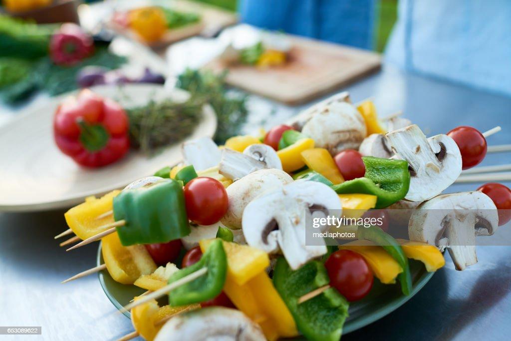 Vegan food : Stock Photo