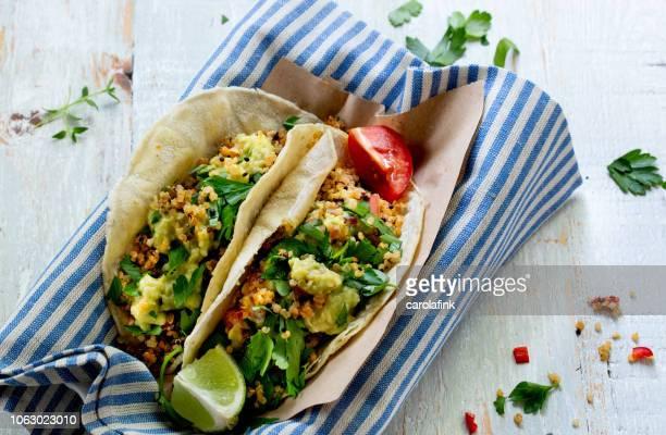 Vegan Quinoa Tacos