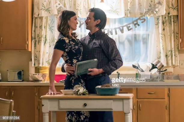 "Vegas, Baby"" Episode 216 -- Pictured: Mandy Moore as Rebecca, Milo Ventimiglia as Jack --"