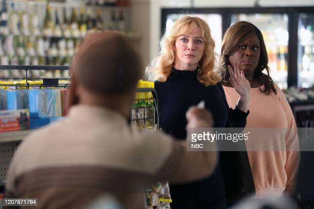 "Vegas, Baby"" Episode 307 -- Pictured: Christina Hendricks as Beth Boland, Retta as Ruby Hill --"