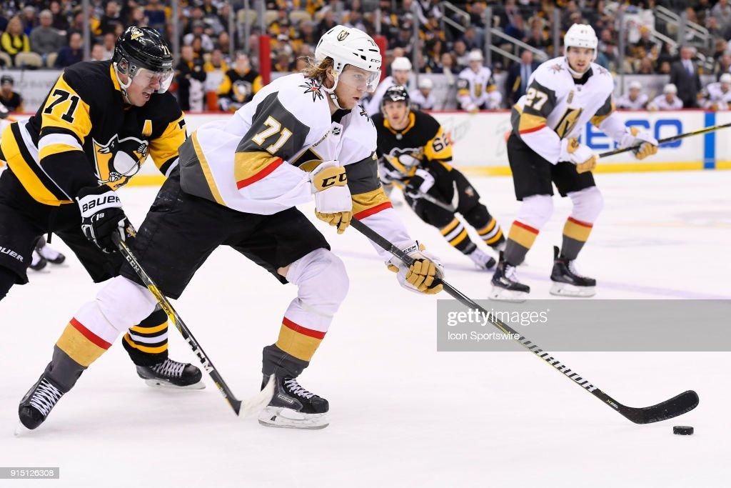 NHL: FEB 06 Golden Knights at Penguins : News Photo