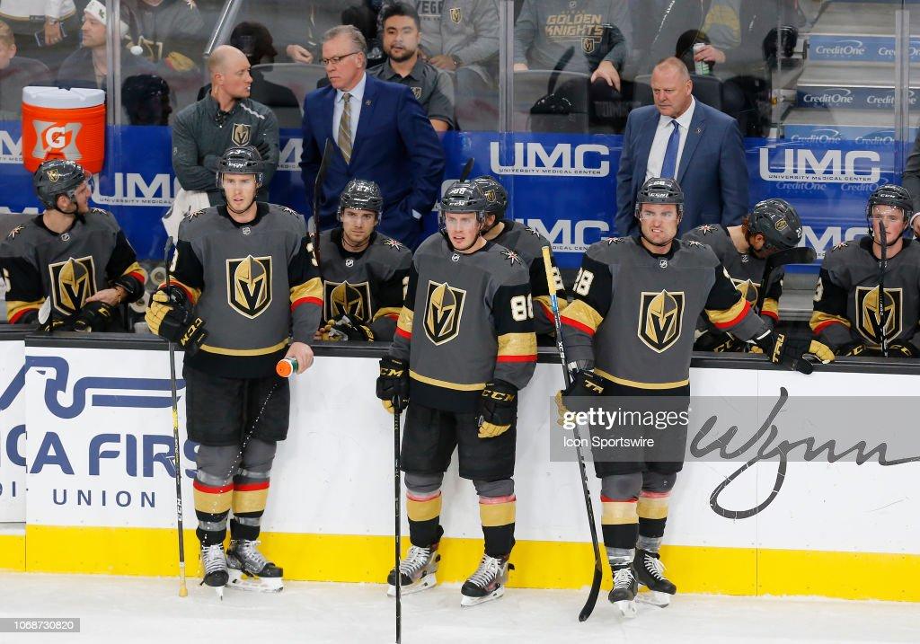 NHL: DEC 04 Capitals at Golden Knights : News Photo