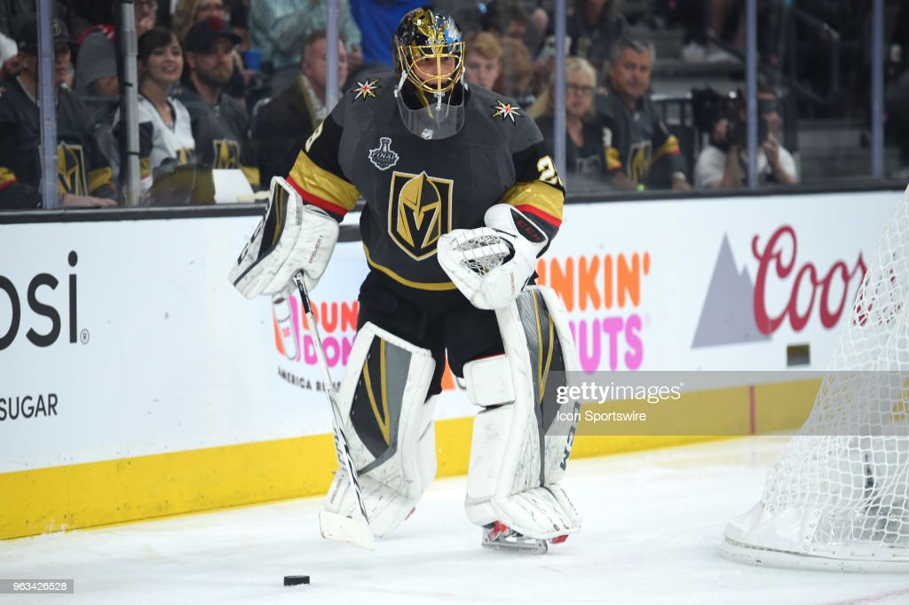 NHL: MAY 28 Stanley Cup Final Game 1 - Capitals at Golden Knights : News Photo