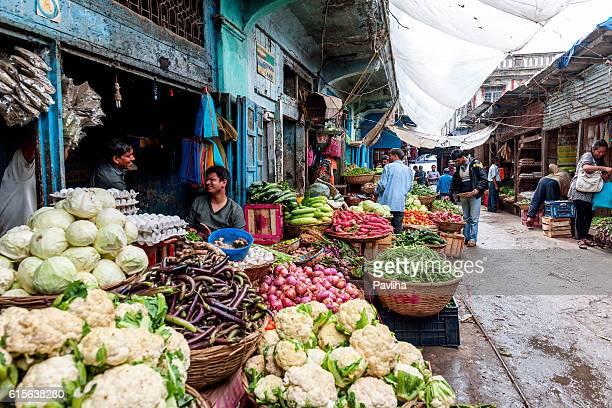 Vegetable and Fruit Market in Darjeeling,West Bengal, India
