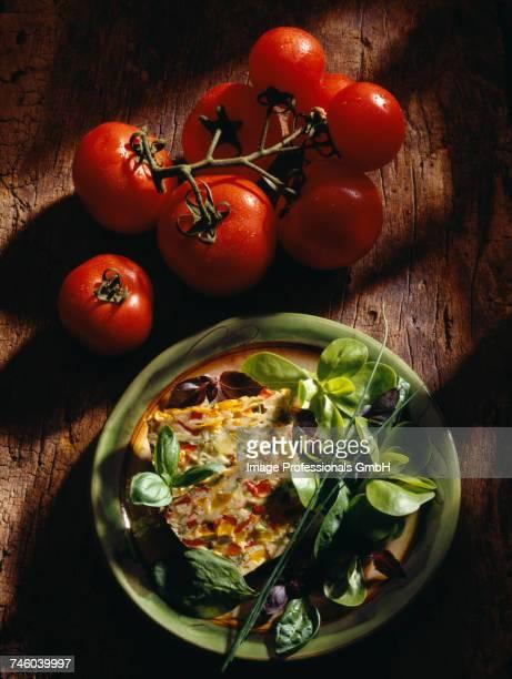 Vegetable and herb terrine