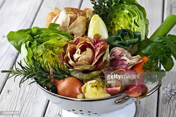 Légumes et des plantes