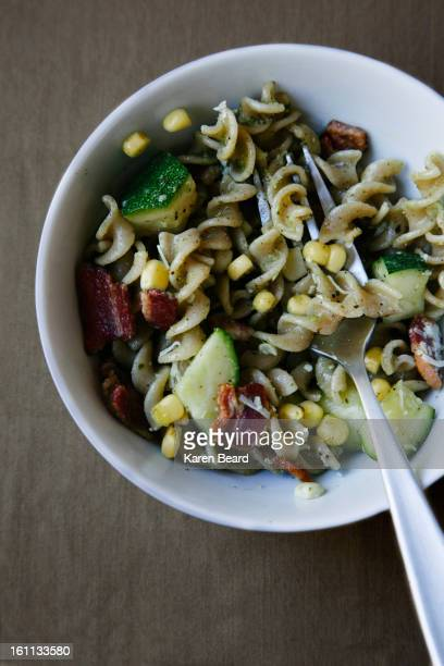 Vegetable and pasta salad