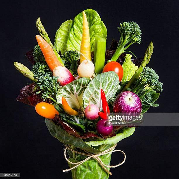 vegetable bouquet - david ramos fotografías e imágenes de stock