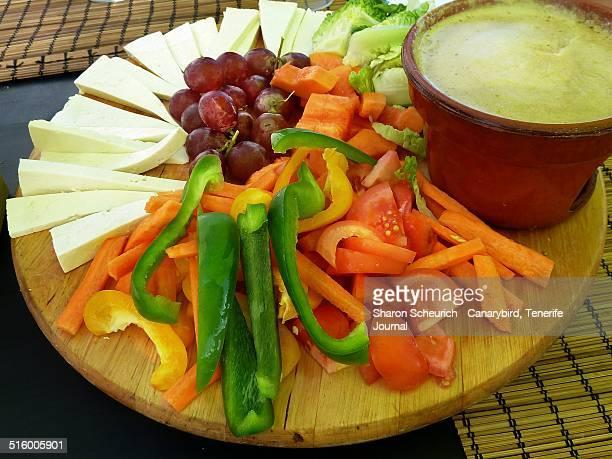 Vegetable & Cheese Tapas