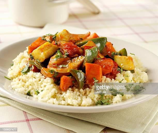vegetable couscous - couscous stock pictures, royalty-free photos & images