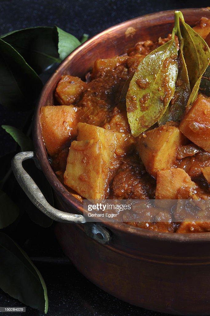 Vegetable curry : Foto de stock