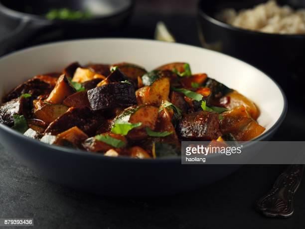 玄米と野菜のカレー