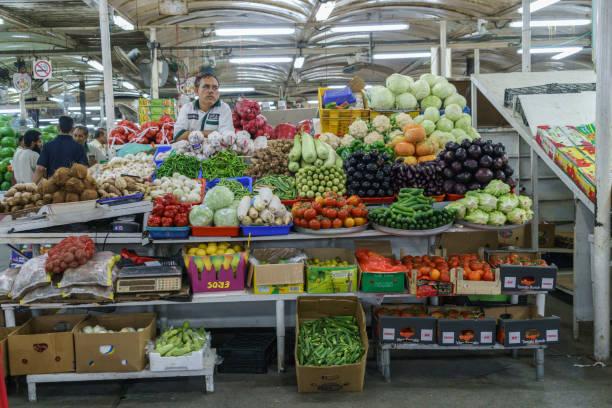 Vegetable Deira market in Dubai, UAE