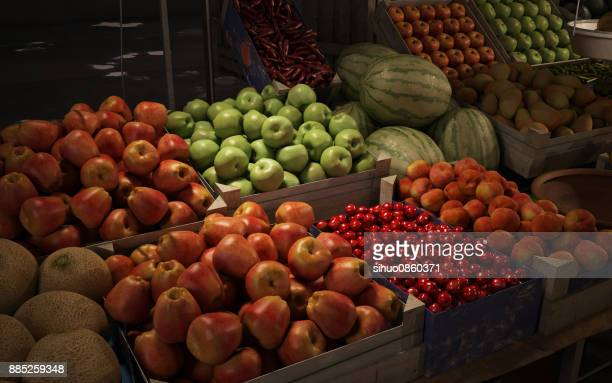 Vegetable Fruit Market