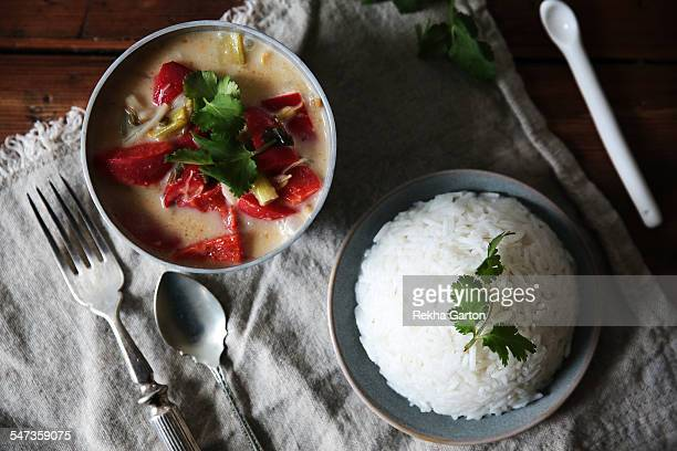 Vegetable itame with rice