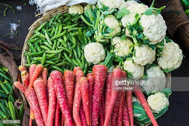 Vegetable market, Udaipur, Rajasthan, India