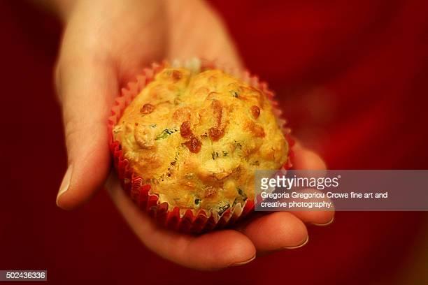 vegetable muffin - gregoria gregoriou crowe fine art and creative photography. photos et images de collection