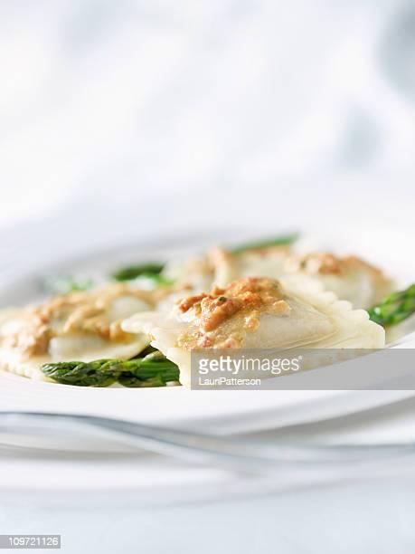 Vegetable Romano Ravioli