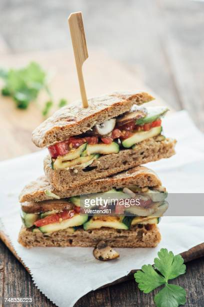 vegetable sandwich - sandwich stock pictures, royalty-free photos & images