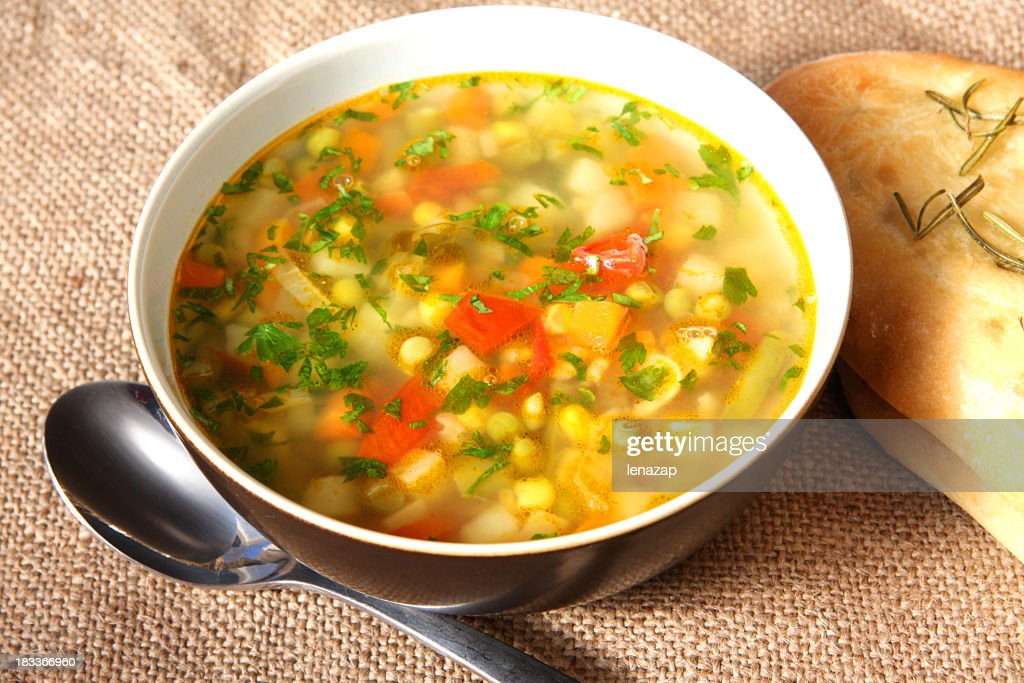 Gemüsesuppe : Stock-Foto