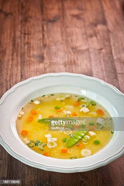 vegetable soup - vegetable soup stock pictures, royalty-free photos & images