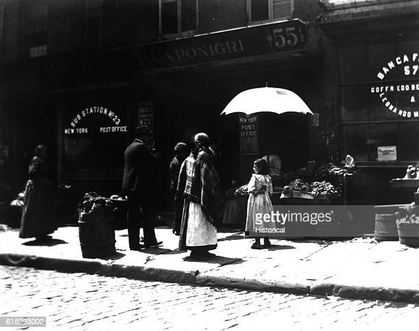 Vegetable Stand in the Mulberry Street Bend