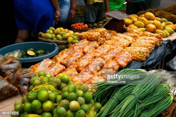 Vegetables at Ver-O-Peso Fair