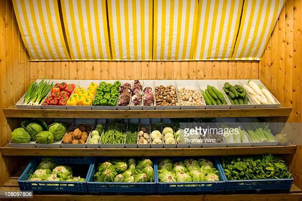 Vegetables for sale, Stuttgart, Baden Wuerttemberg, Germany