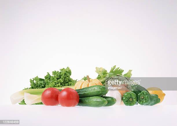 vegetables - leaf lettuce stock photos and pictures