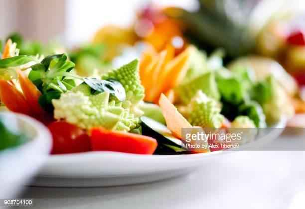 vegetables - servierfertig stock-fotos und bilder