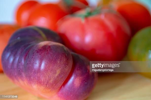 Vegetables - several varieties of tomato