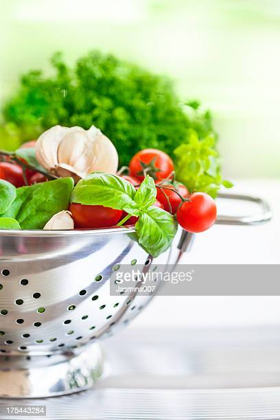 Vegetables with  fresh spices