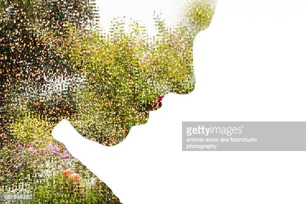 vegetal diva. - mask disguise stock pictures, royalty-free photos & images