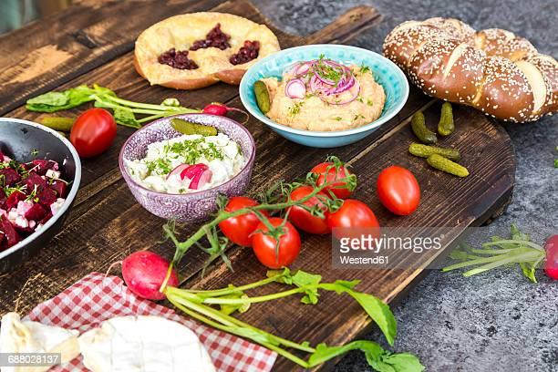 Vegetarian Bavarian Buffet