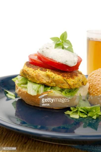Hamburger vegetariano Chick Pea