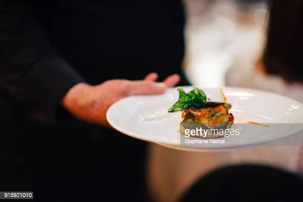 vegetarian dish - コース料理 ストックフォトと画像