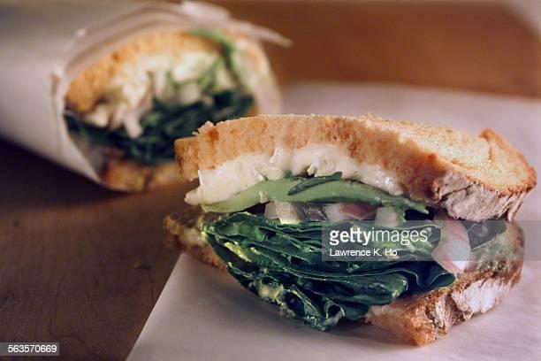 Vegetarian Sandwich from Penelope's Cafe