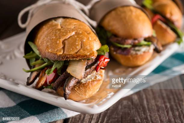 vegetarian sub sandwich - sandwich stock pictures, royalty-free photos & images