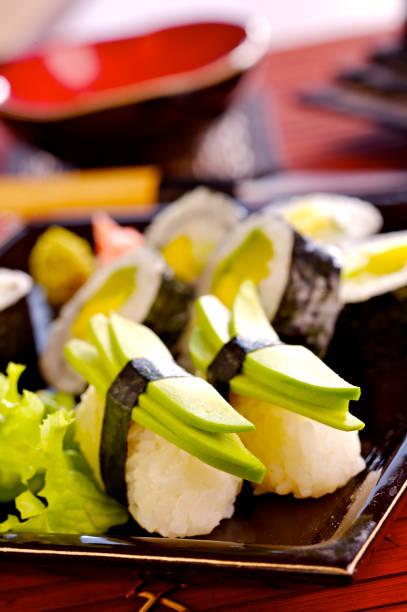 Vegetarian Sushi  Wall Art