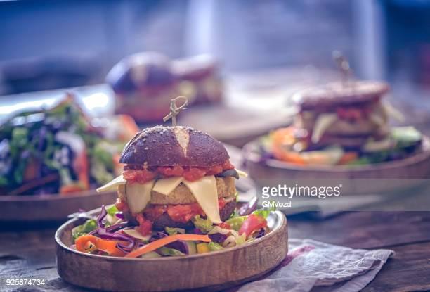 Burger végétarien Tofu
