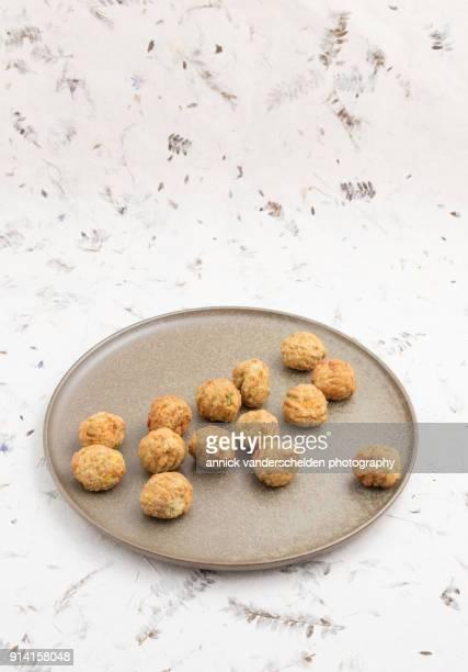 Vegetarian vegetable balls.