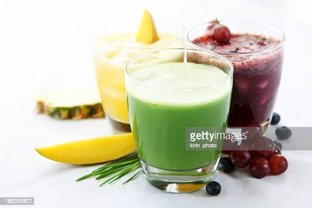 Veggie and fruit juices