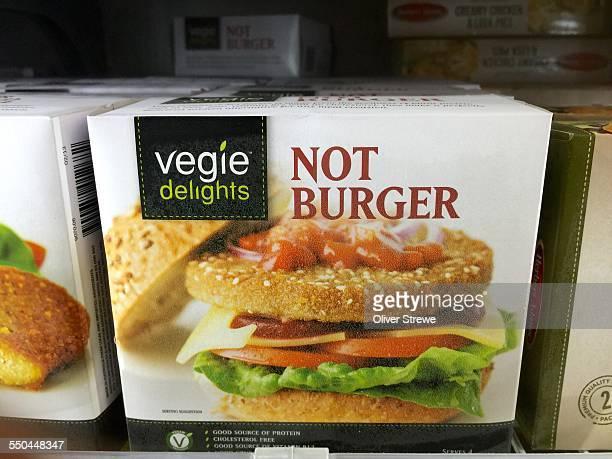 Veggie delights Not Burger vegetarian burger