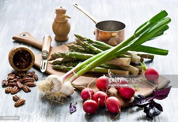 veg-salad - anna verdina stock photos and pictures