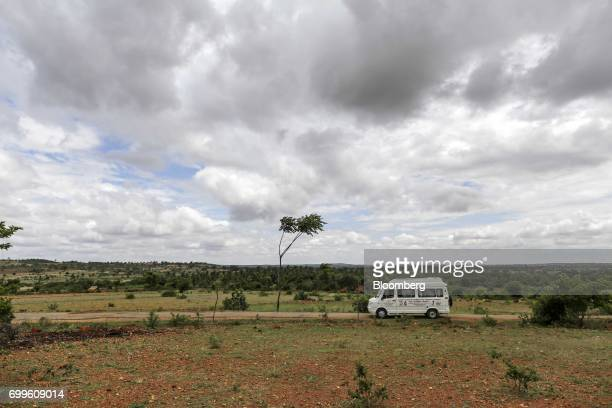 A vehicle carrying a team of doctors and medical staff from the Jain Institute of Vascular Sciences travels to Pancharala village on the outskirts of...