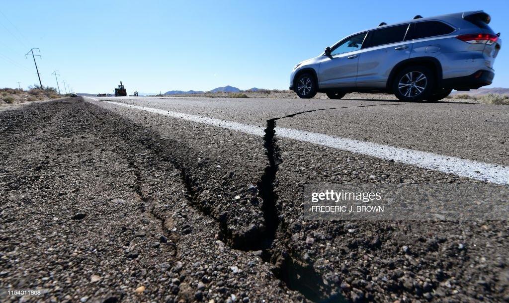 US-EARTHQUAKE : News Photo