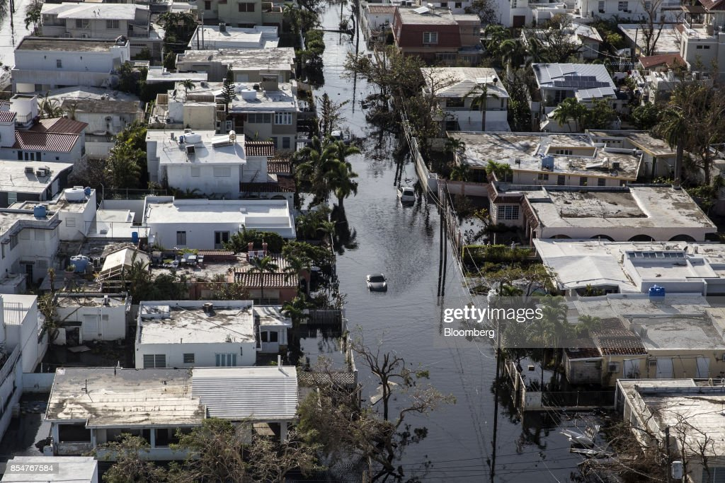Puerto Rico Struggles To Recover After Hurricane Maria : News Photo