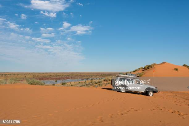 4WD Vehicle In The Australian Outback